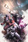Annihilators No4 Cover: Ikon  Gladiator  Beta-Ray Bill