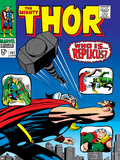 Marvel Comics Retro: The Mighty Thor Comic Book Cover No141  Who is Replicus