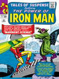 Marvel Comics Retro: The Invincible Iron Man Comic Book Cover No54  Mandarin's Revenge!