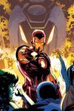 Iron Age No1 Cover: Iron Man Posing