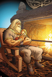 The Mighty Thor No7: Odin Sitting with Thor in his Arms