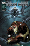 Invincible Iron Man No502 Cover: Iron Man and Doctor Octopus Fighting