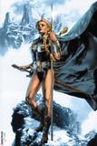 Valkyrie No1 Cover: Valkyrie Posing