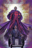 Excalibur No4 Cover: Magneto and Professor X