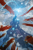 Chaos War: Thor No2 Cover: Thor Standing