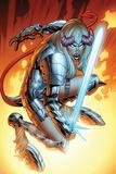 New Mutants No17: Magik Crouching