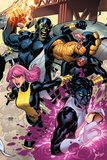 Secret Invasion: X-Men No2 Cover: Pixie  Nightcrawler and Cyclops