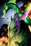 Avengers vs Pet Avengers No2: Fin Fang Foom and Lockheed Flying