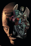 Dark X-Men No4 Cover: Mystique  Omega  Dark Beast and Mimic
