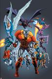 Handbook: X-Men 2005 Cover: Colossus