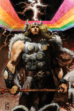 Thor: For Asgard No4 Cover: Thor Standing