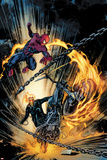 Amazing Spider-Man and Ghost Rider: Motorstorm No1 Cover