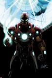 Invincible Iron Man No501 Cover: Iron Man Standing