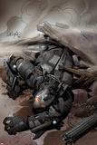 Iron Man 20 No2 Cover: War Machine Falling
