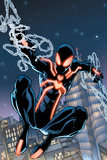 The Amazing Spider-Man No650 Cover: Spider-Man Swinging