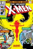 Uncanny X-Men No125 Cover: Phoenix  Colossus  Storm  Madrox and Havok