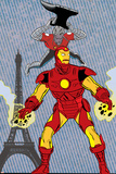 X-Statics No24 Cover: Iron Man and Mr Sensitive