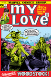 Marvel Comics Retro: My Love Comic Book Cover No14  Woodstock