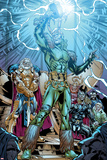 Marvel Adventures Super Heroes No19: Loki Standing with Mjolnir
