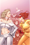 Young Allies No6 Cover: Firestar Standing