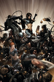 X-Force No2 Cover: X-23  Warpath and Wolverine