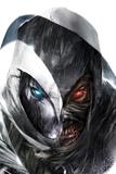 Shadowland: Moon Knight No3 Cover: Moon Knight Posing