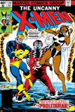 Uncanny X-Men No124 Cover: Storm  Colossus and Cyclops