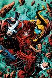Avengers Academy No4 Cover: Juggernaut Smashing