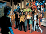Handbook: X-Men 2005 Group: Nightcrawler  Wolverine  Beast  Emma Frost  Colossus and Storm