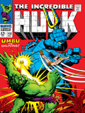 Marvel Comics Retro: The Incredible Hulk Comic Book Cover No110  with Umbu the Unliving
