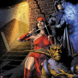 Heroes For Hire No9 Cover: Elektra and Shroud