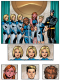 New X-Men: Academy X Yearbook Group: Stepford Cuckoos
