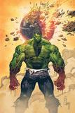 Incredible Hulk No1 Cover: Hulk Standing