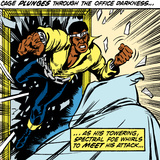 Marvel Comics Retro: Luke Cage  Hero for Hire Comic Panel