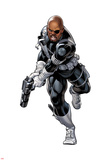 Nick Fury with a Gun