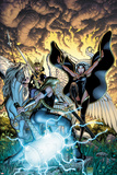 Fear Itself: The Fearless No9 Cover: Storm and Moonstar
