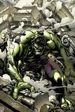 Incredible Hulks No621 Cover: Hulk Smashing