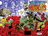 New Mutants Special Edition No1 Cover: Warlock  Wolfsbane  Magik and New Mutants