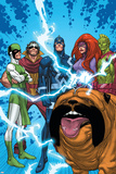 Uncanny X-Men: First Class No1 Group: Black Bolt  Medusa  Lockjaw  Karnak  Gorgon and Triton