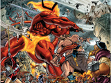 Thor No85 Group: Surtur and Beta-Ray Bill