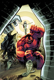 Hulk No40 Cover: Red Hulk Screaming