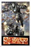 Invincible Iron Man No32: War Machine Flying