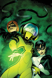 Avengers Academy No8 Cover: Hazmat  Veil  and Finesse Standing
