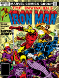 Marvel Comics Retro: The Invincible Iron Man Comic Book Cover No127  Against the Super-Army!