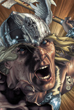 Thor: For Asgard No3 Cover: Thor Screaming