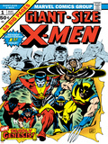 Marvel Comics Retro: The X-Men Comic Book Cover No1