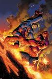 Hulk No49 Cover: Red Hulk and Icarus