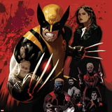 Fear Itself: Wolverine No1 Cover: Wolverine Posing