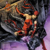 Heroes For Hire No10 Cover: Elektra and Shroud