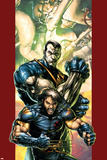 Ultimate X-Men No47 Cover: Wolverine and Colossus